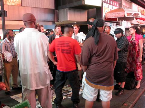 Conflict Circle, Times SquareARE.artcat