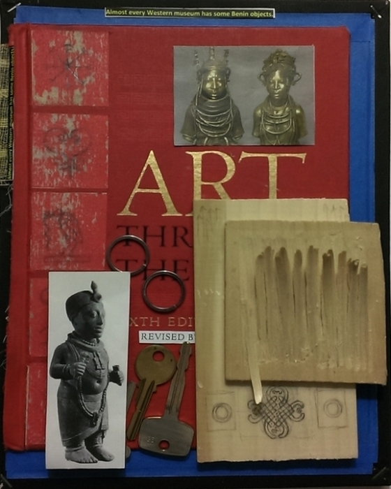 Altered book works